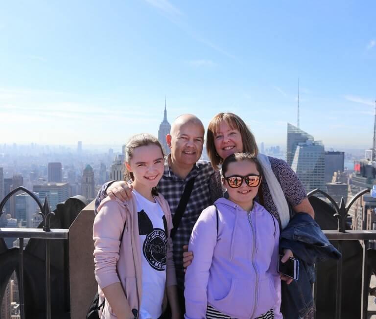 Christmas 2017 Newsletter Family